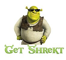 Get Shrekt m8 Photographic Print