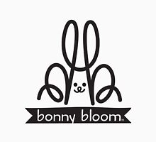 Bonny Bloom Primary Logo BW Unisex T-Shirt