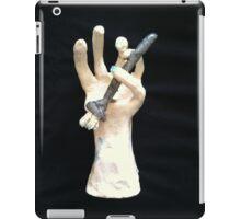 hand and brush iPad Case/Skin