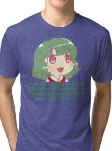 Chibi Yuuka Comforts You Tri-blend T-Shirt