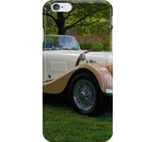 1968 Morgan +4 Roadster iPhone Case/Skin