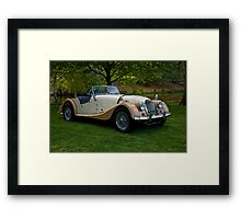1968 Morgan +4 Roadster Framed Print