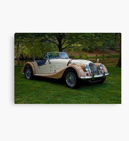 1968 Morgan +4 Roadster Canvas Print