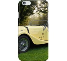 1957 Morgan +4 Roadster iPhone Case/Skin