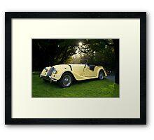 1957 Morgan +4 Roadster Framed Print