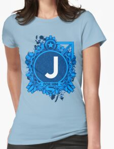 FOR HIM - J Womens Fitted T-Shirt