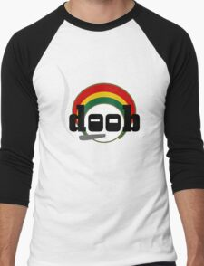 Doob Rastaman Men's Baseball ¾ T-Shirt