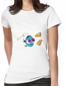 I'm full... OH look... DESSERT!!  Womens Fitted T-Shirt