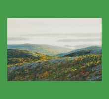 Cadillac Mountain in Fall, Acadia National Park Maine Kids Clothes