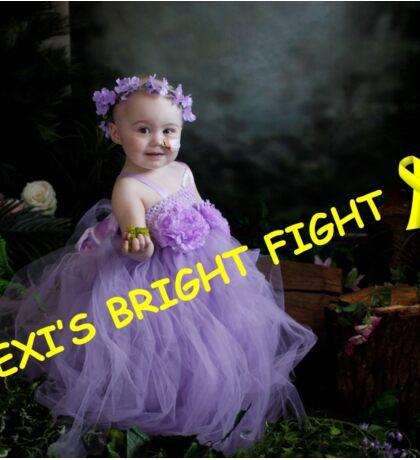 lexi's bright fight Sticker
