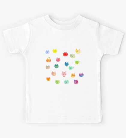 Cat confetti Kids Tee