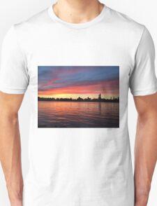 Manhattan Sunset from Brooklyn, NYC Unisex T-Shirt