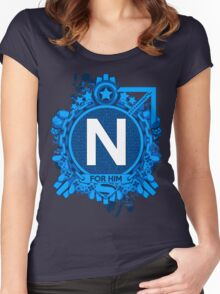 FOR HIM - N Women's Fitted Scoop T-Shirt