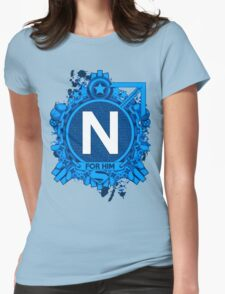 FOR HIM - N Womens Fitted T-Shirt
