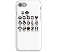 Neon Genesis Evangelion art iPhone Case/Skin