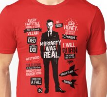 Good Old Fashioned Villain Quotes Unisex T-Shirt