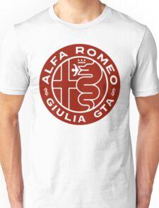 Alfa Romeo Giulia GTA RED Unisex T-Shirt