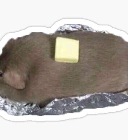 Cursed Baked Pig Sticker