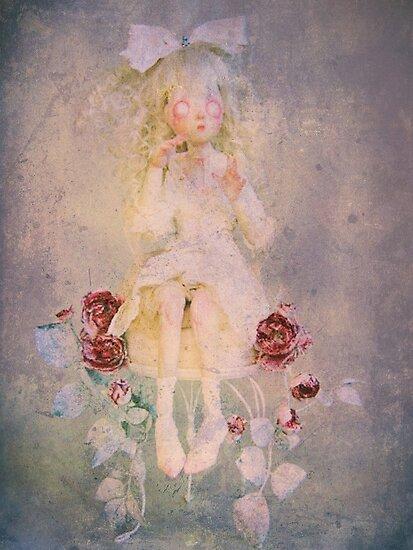 Alice is in the Garden by leapdaybride