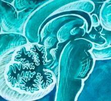 The Blue Brain Sticker