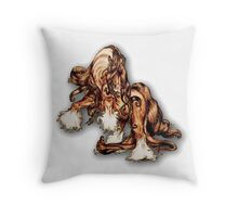 """Stallion Swagger"" Throw Pillow"