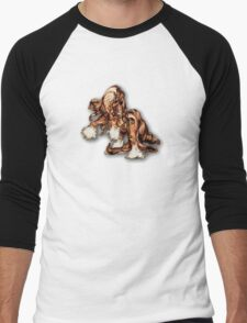 """Stallion Swagger"" Men's Baseball ¾ T-Shirt"
