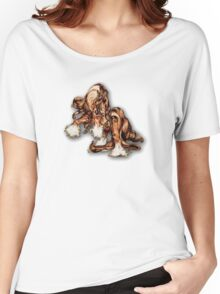 """""""Stallion Swagger"""" Women's Relaxed Fit T-Shirt"""