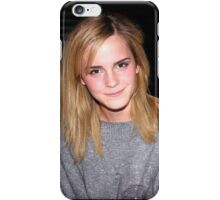 Emma Watson is 100% cute iPhone Case/Skin