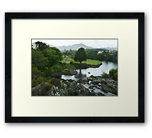 Sneem Co Kerry Ireland. Framed Print