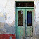 Green door by Dalmatinka