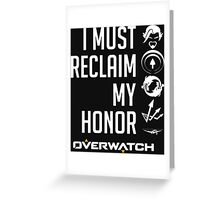 OVERWATCH HANZO Greeting Card