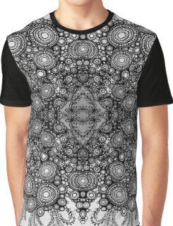Fleur Vintage pattern - dove grey Graphic T-Shirt