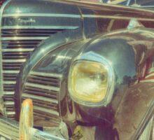 Retro Vintage Chrysler in Color Sticker