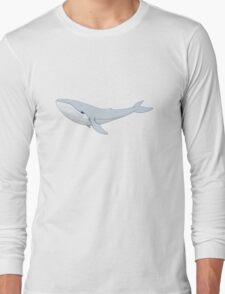 The Whale In The Night Long Sleeve T-Shirt