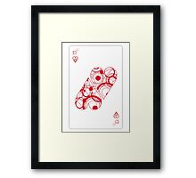 Two (of) Hearts Framed Print