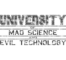 University of Mad Science and Evil Technology - Classic Photographic Print