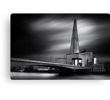 London in Monochrome Canvas Print
