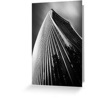 London Walkie Talkie Skyscraper Greeting Card