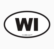 Wisconsin WI Euro Oval  by USAswagg2