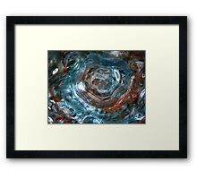 Art Glass Framed Print