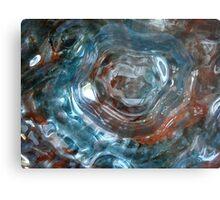 Art Glass Metal Print