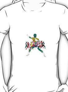 Power Rangers Super Mega Force Legendary Rangers T-Shirt