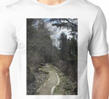 The trail to Andrews Bald - GSMNP Unisex T-Shirt