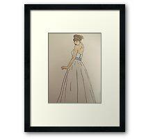 Wedding Dress No 1 Framed Print