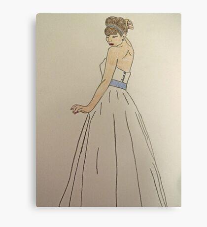 Wedding Dress No 1 Canvas Print
