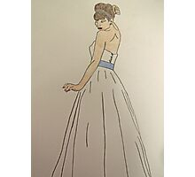 Wedding Dress No 1 Photographic Print