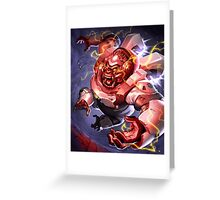 OVERWATCH WINSTON Greeting Card