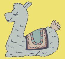Blue Llama Kids Tee
