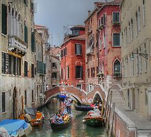 Boats and bridges.... in Venice by Thea 65