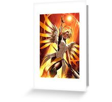OVERWATCH MERCY Greeting Card